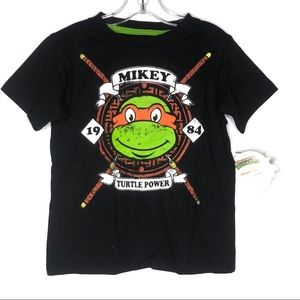 TMNT Classic Graphic Short Sleeves T-Shirt 5T